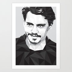 Here's Johnny... Art Print