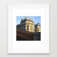 A little bit of Paris Framed Art Print