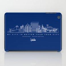 My City is Better Than Your City - Spokane, WA iPad Case