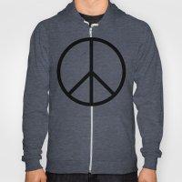 CND Peace Symbol Hoody