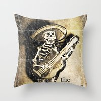 the dead Throw Pillow