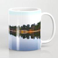 Northwest lake Mug