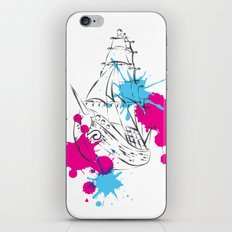 out boat iPhone & iPod Skin