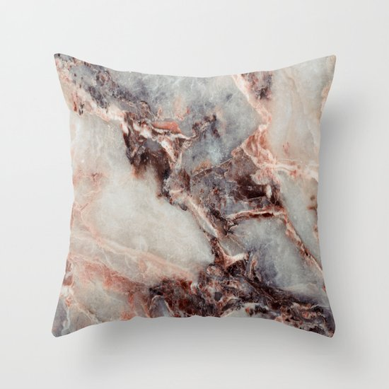 Marble Texture 85 Throw Pillow By Robin Curtiss Society6