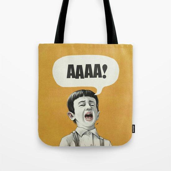 AAAA! (Golden) Tote Bag