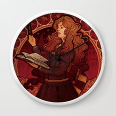 The Brightest Witch of Her Age Wall Clock