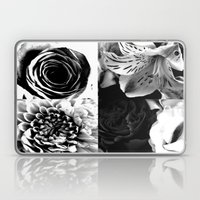 Delicate Flower Abstract Laptop & iPad Skin