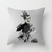 My interrogation? Throw Pillow