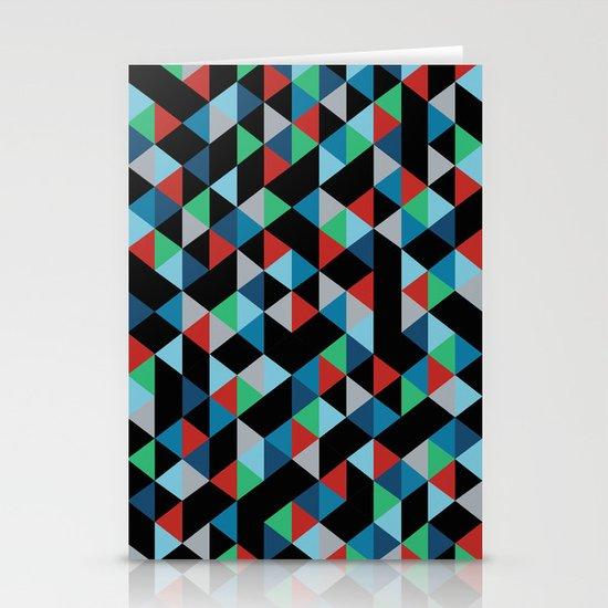 Triangles 4B Stationery Card