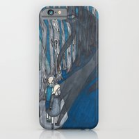 iPhone Cases featuring Stay Out of the Shadows by ECMazur