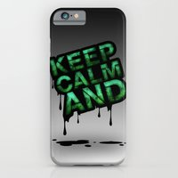 iPhone & iPod Case featuring Keep Calm And.... by Tobia Crivellari