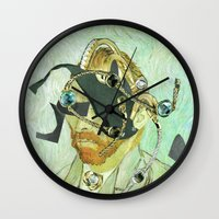In Vincent´s Face · 3 Wall Clock