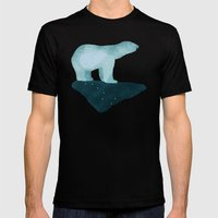 Polar Bear Mens Fitted Tee Black SMALL