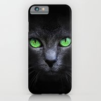 iPhone & iPod Case featuring Black Cat by Sitchko Igor