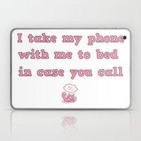call me! Laptop & iPad Skin