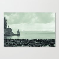siwash rock Canvas Print