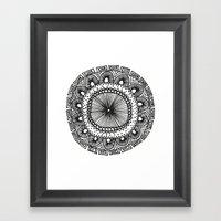 Mandala 1 Framed Art Print