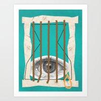 Suppression of Dreams Art Print