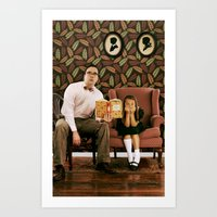 Single Dad. Art Print