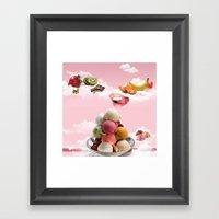 Ice-cream Framed Art Print