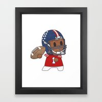 American Football II Framed Art Print