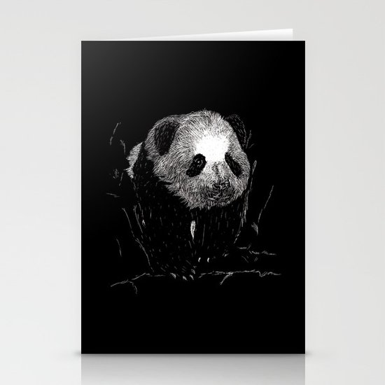 Grin, Bear it Stationery Card
