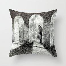 Fingerprint - Arcades Throw Pillow