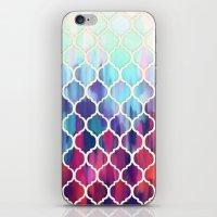 Moroccan Meltdown - Pink… iPhone & iPod Skin