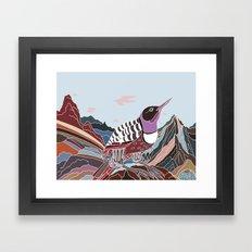 Arid Eden Framed Art Print
