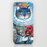 Qween Cat - Tudor Cat iPhone 6 Slim Case