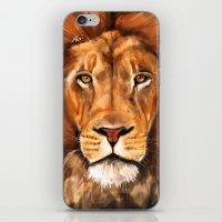 Iron Lion iPhone & iPod Skin