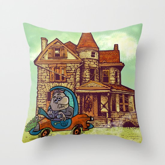 prima casa. Throw Pillow