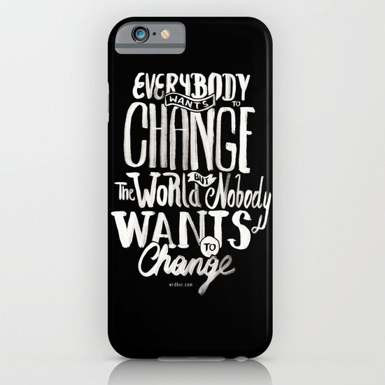 Change iPhone & iPod Case