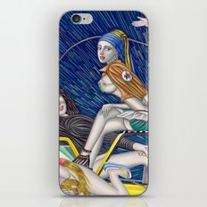 少女時代 - Girls Generation / Gouache Original A4 Illustration / Painting iPhone & iPod Skin