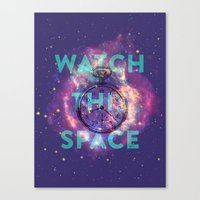 Watch this space Canvas Print