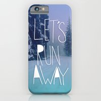 iPhone & iPod Case featuring Let's Run Away: Rainier National Forest, Oregon by Leah Flores