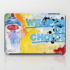 Weapon of Choice iPad Case