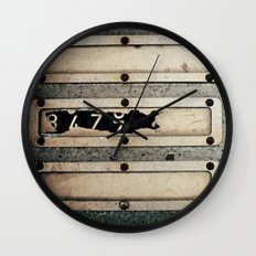 Industrial Numbers Wall Clock