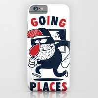 iPhone & iPod Case featuring Going Places. by Huxley Chin