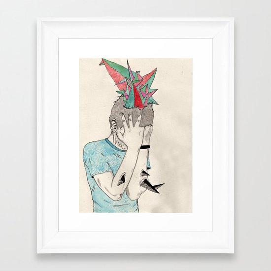 A good few Framed Art Print