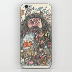 Hagrid's Beard iPhone & iPod Skin