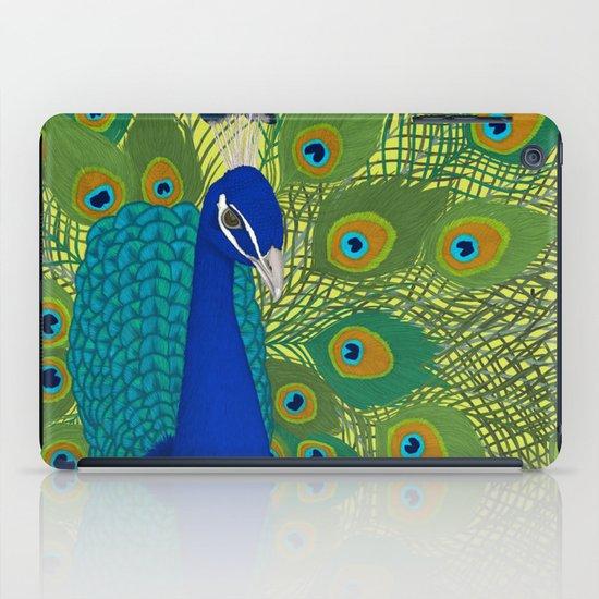 Peacock in Colour iPad Case