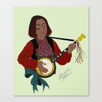 O cino muzikánto (The little musician) Canvas Print