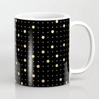 Pin Points Gold Mug