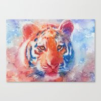 Staring into your soul Canvas Print