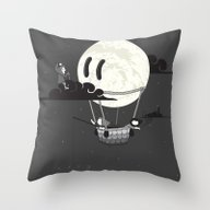 You Should See The Moon … Throw Pillow
