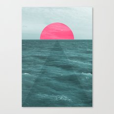 Magenta Sunset Canvas Print