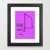 Sepp Maier - The Cat From Anzig Framed Art Print