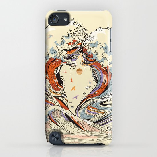 The Wave of Love iPhone & iPod Case