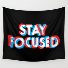 Stay Focused Wall Tapestry